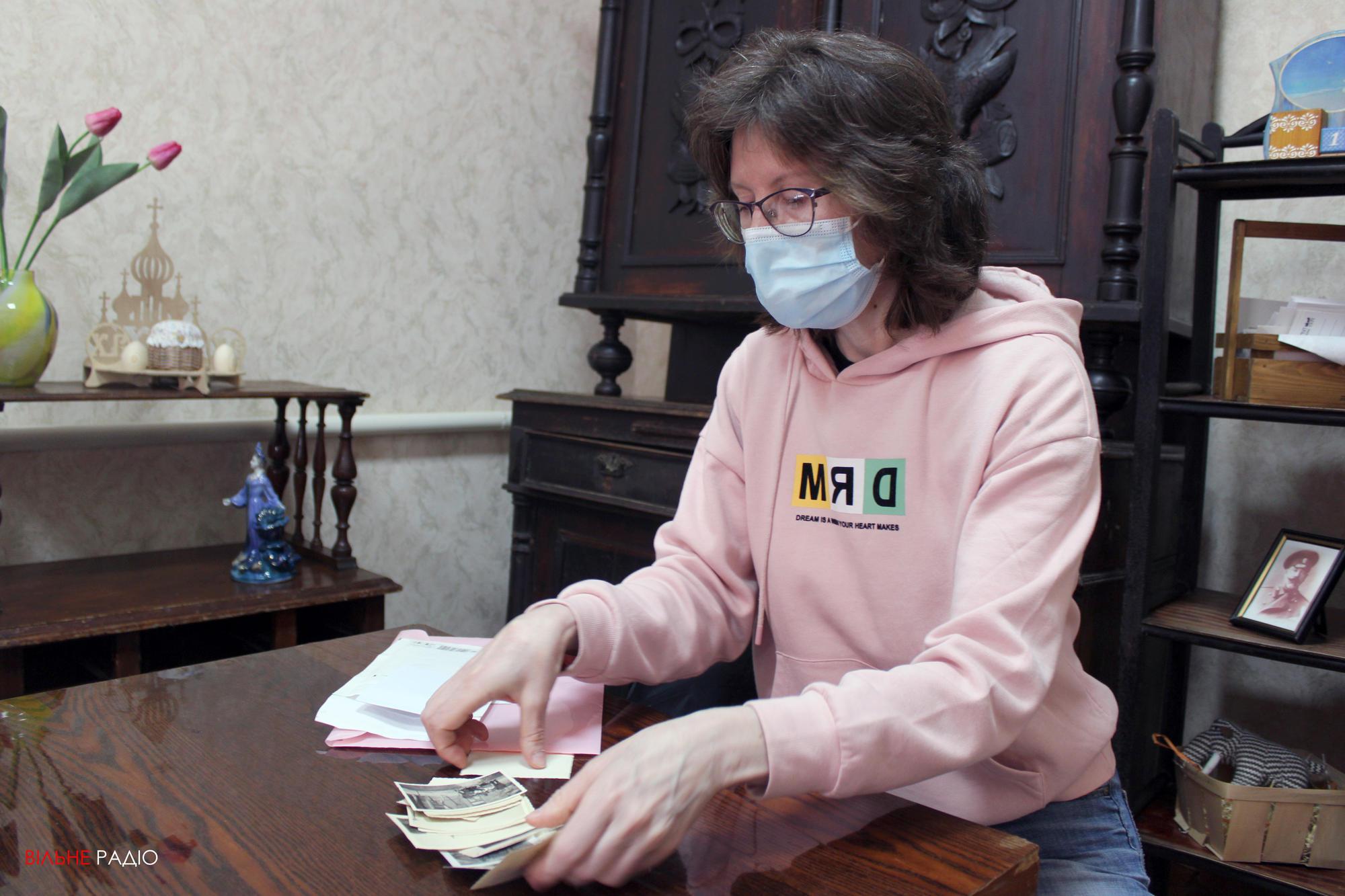 Активистка из Бахмута Наталья Жукова собирает исторические фото родного города
