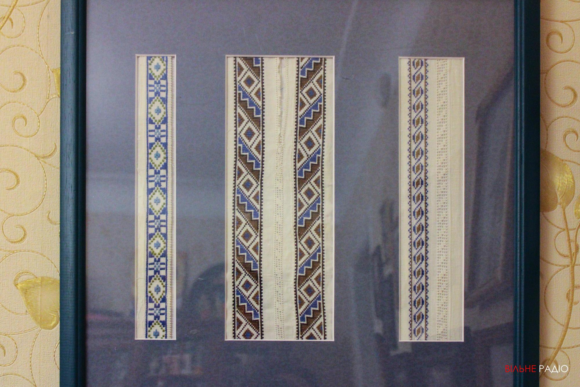 Фрагменты сорочек родителей мастерицы из Бахмута Светланы кравченко