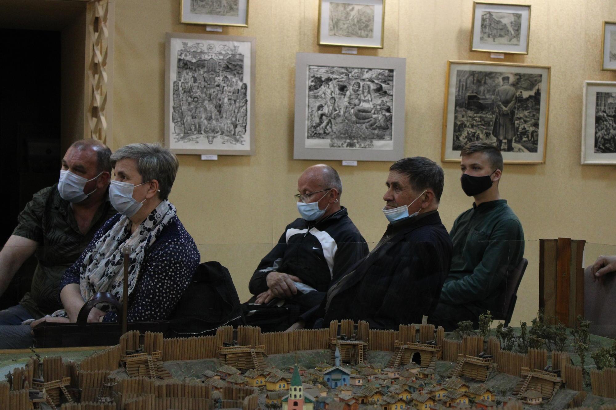 зустріч з Володимиром В'ятровичем у Бахмутському краєзнавчому музеї