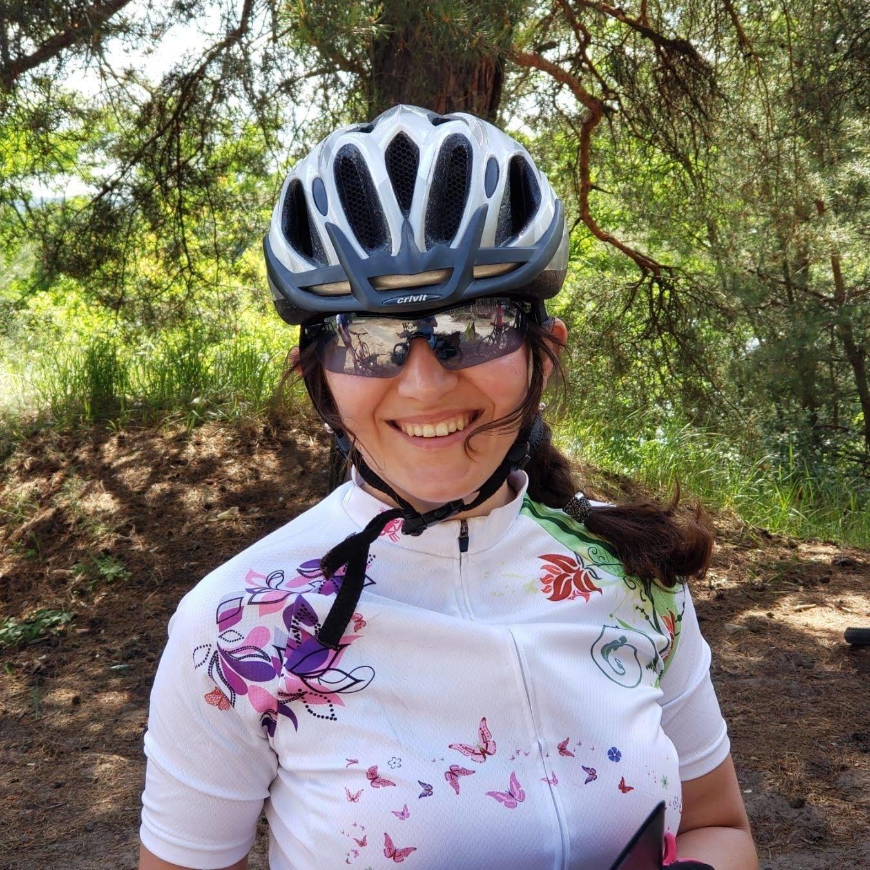 Велосипедистка зі Слов'янська Марія Батєнькова