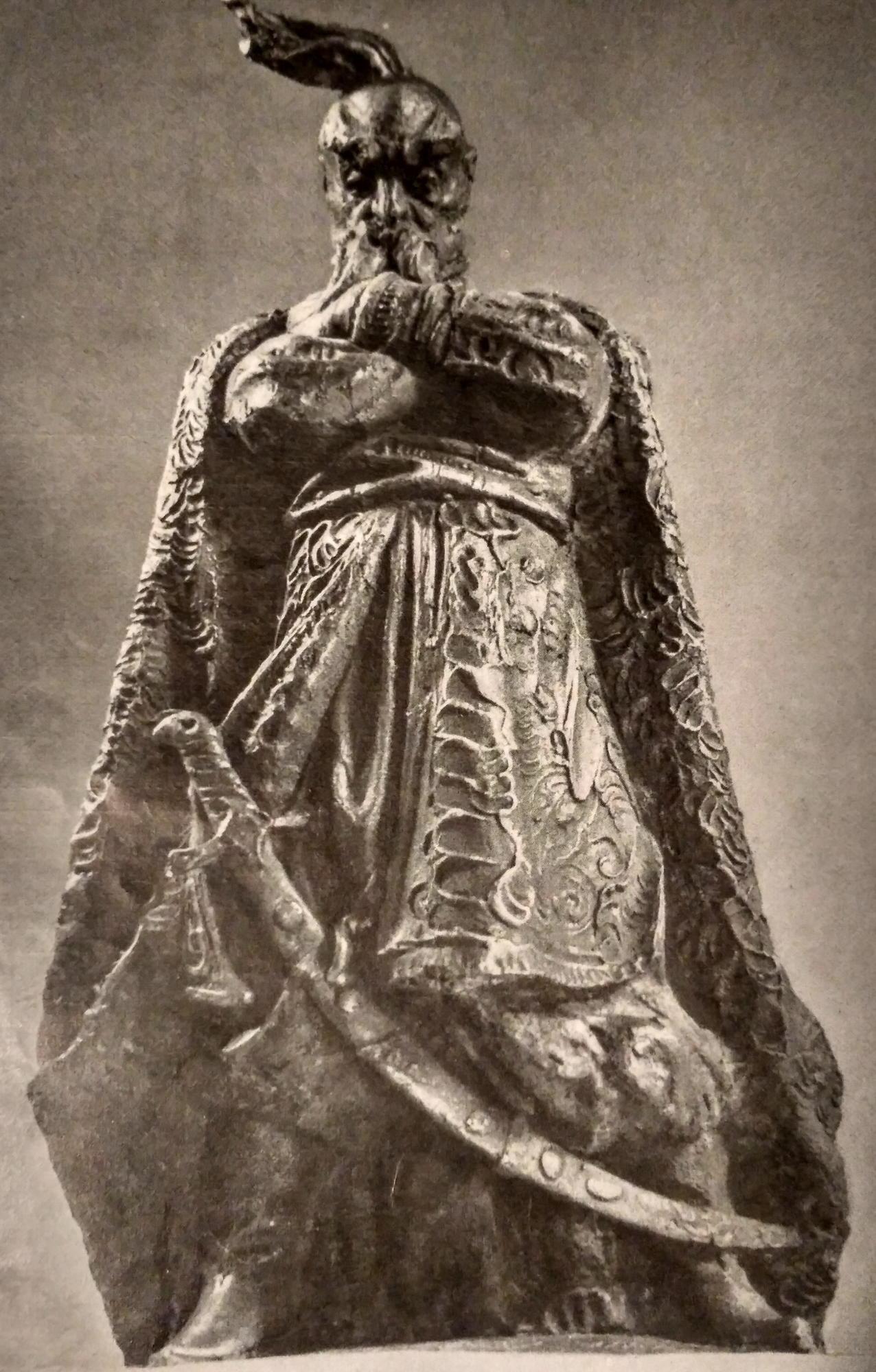 скульптура Миколи Мухіна