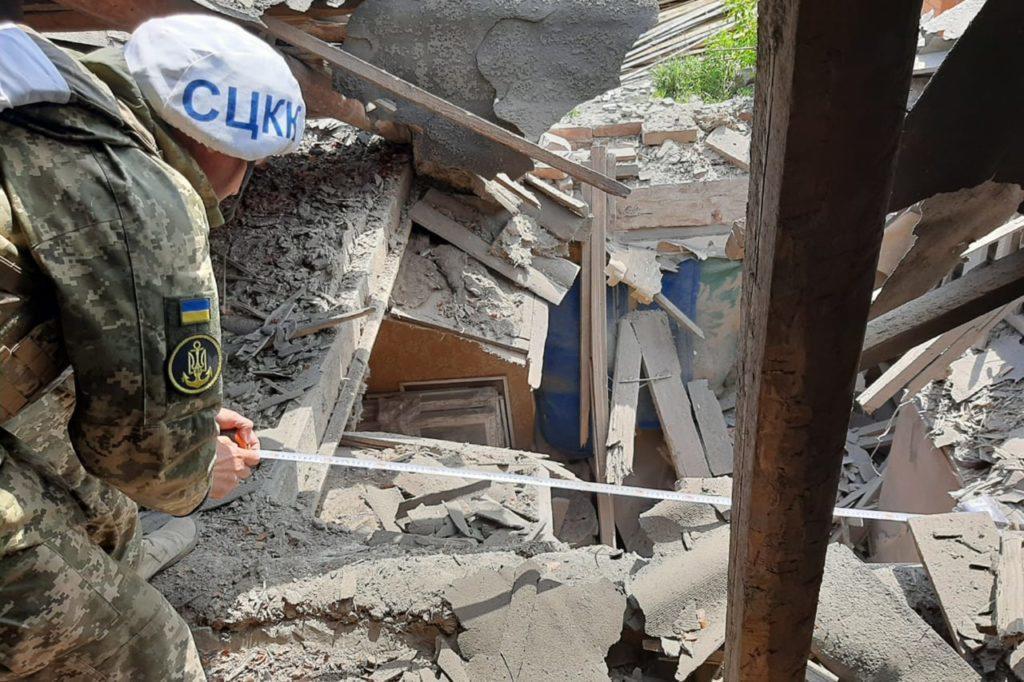 Окупанти поцілили з міномета у будинок в н.п. Піски Донецької області