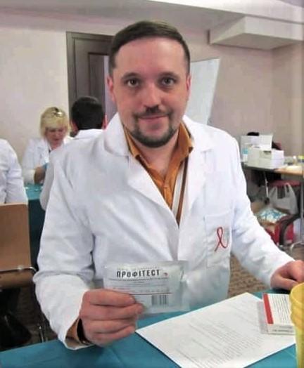 сімейний лікар з Бахмута Тарас Коваль