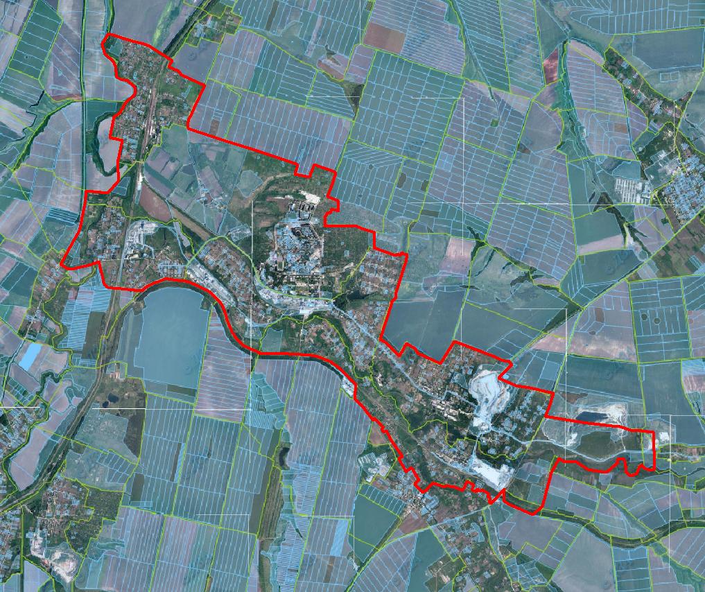 План громади з неба: У Соледарській ОТГ вперше за майже 40 років зроблять топографічну мапу
