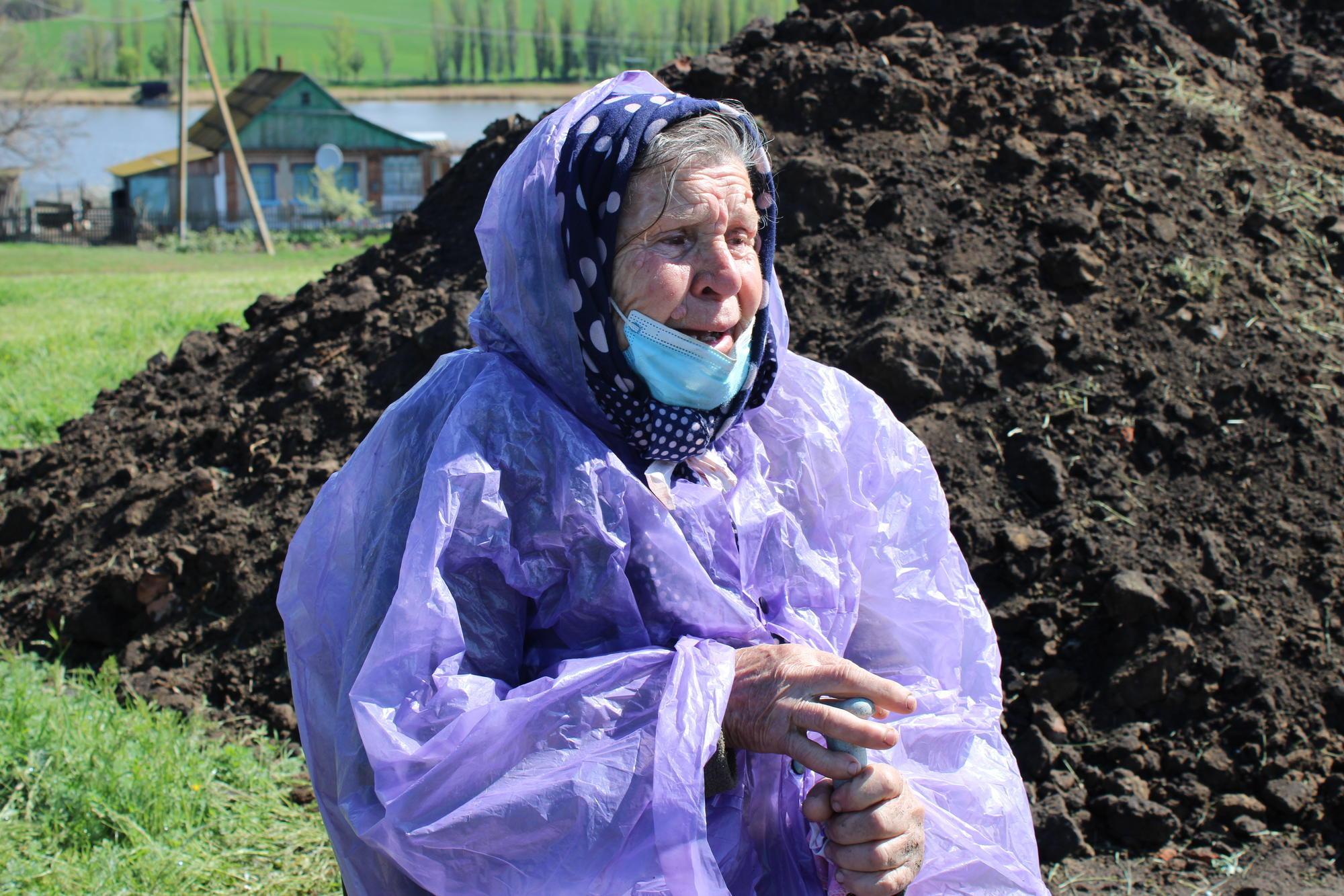 пожилая жительница Никольского