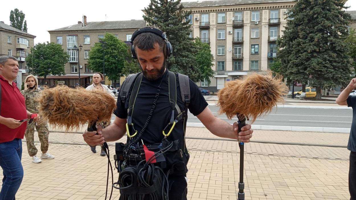 На Донбасі почали знімати фільм про європейську індустріалізацію регіону