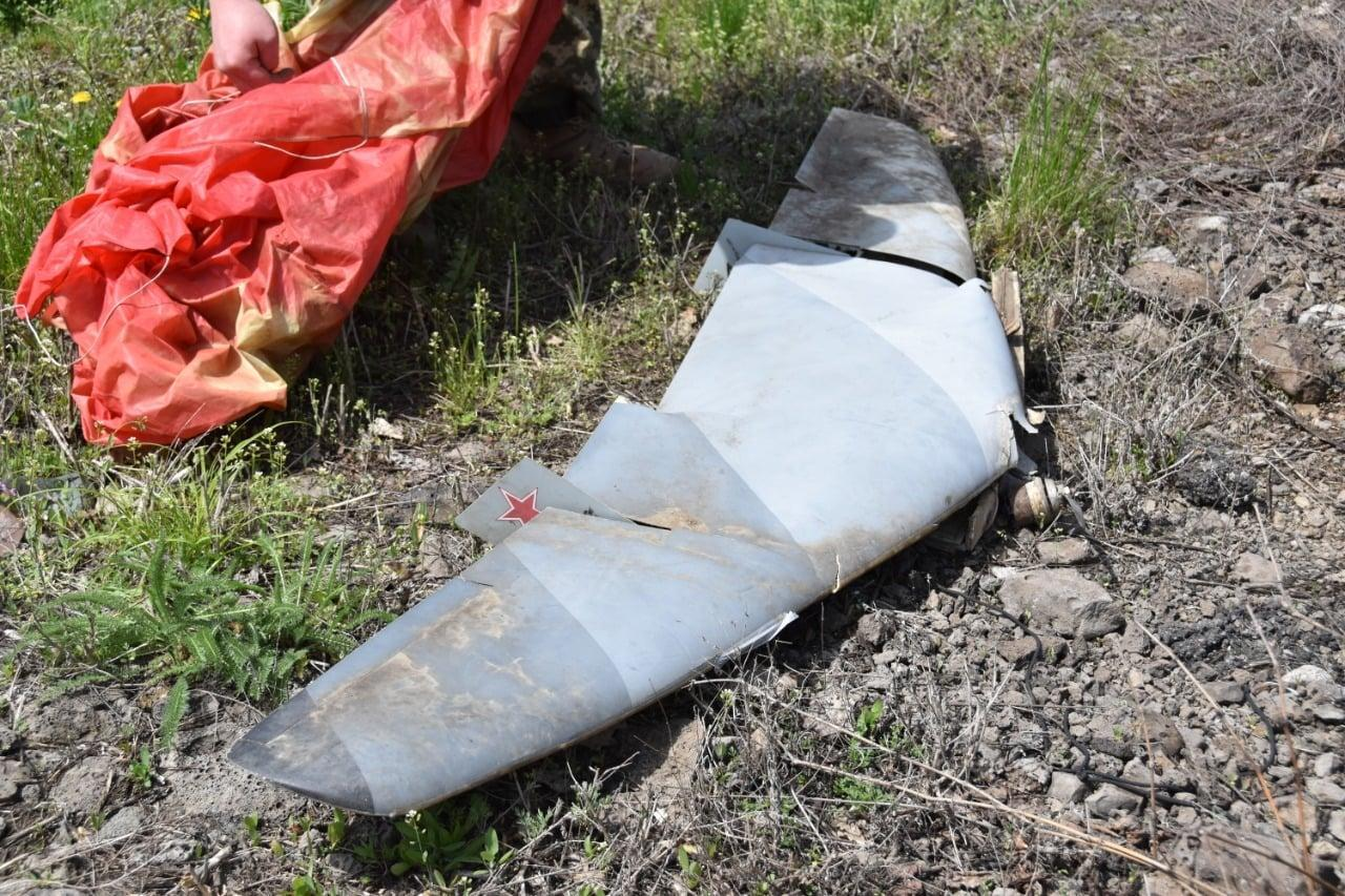 российский беспилотник сбитый на Донбассе