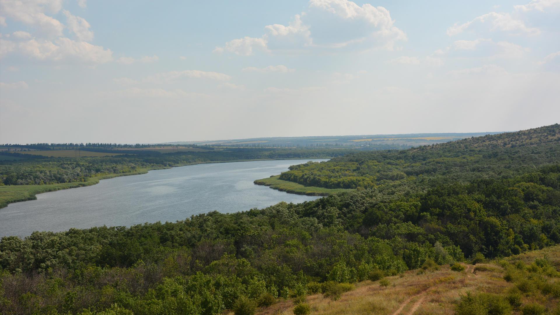 Регіональний ландшафтний парк Клебан-Бик на Донеччині