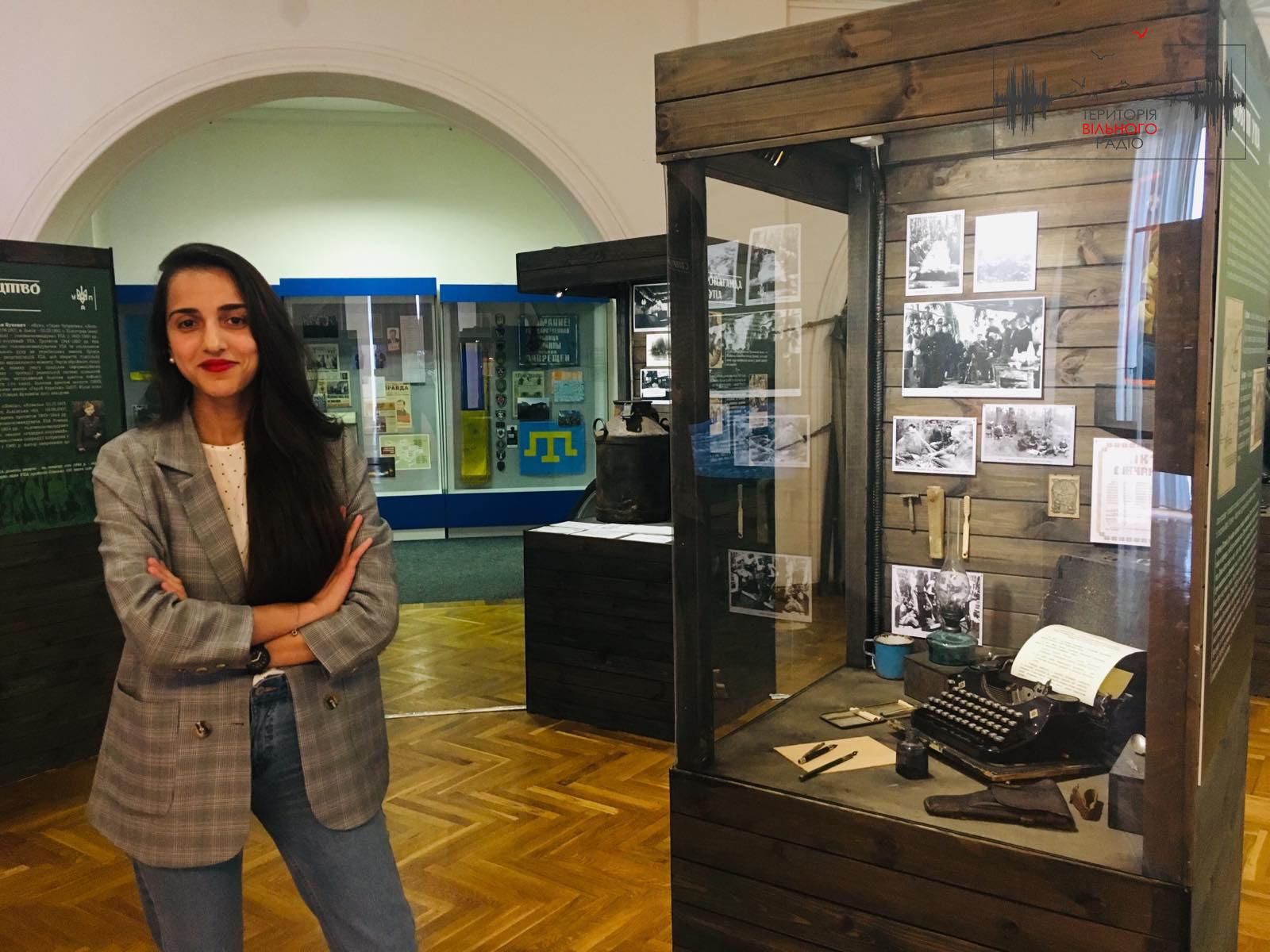 Украинская исследовательница Алина Понипаляк