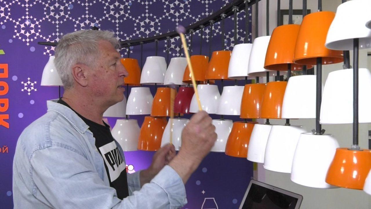 Житель Славянска изобрел новый музыкальный инструмент - керамофон