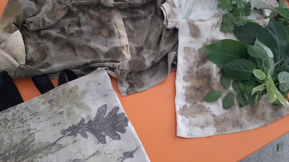 мистецтво Богдани Войтенко прінт листя