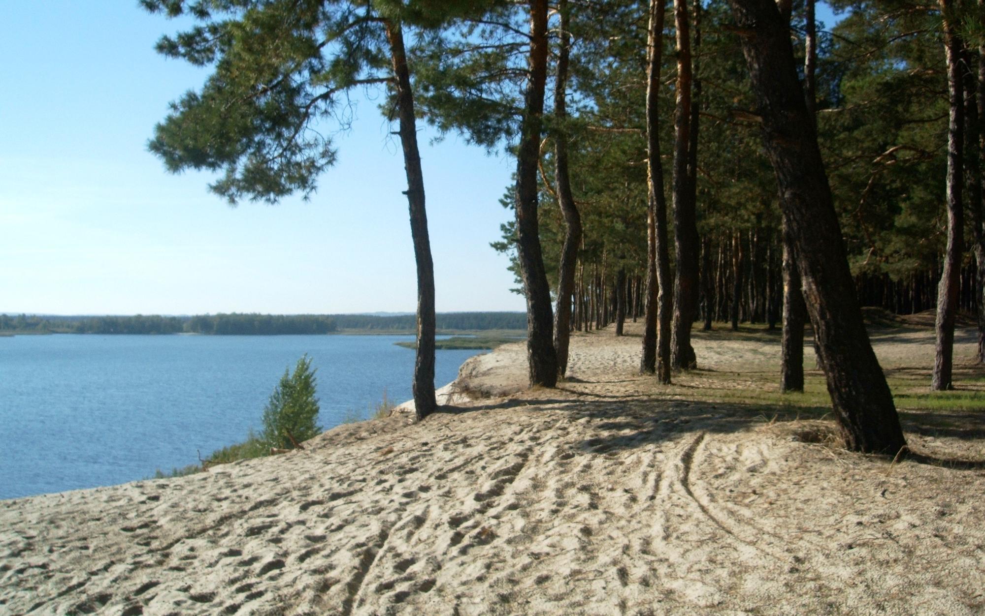 Голубые озера в Донецкой области