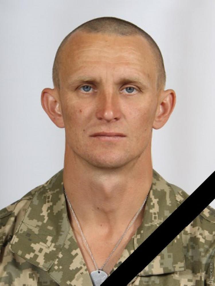 Украинский военный Ярослав Журавель, убитый боевиками под Зайцевым Донецкой области