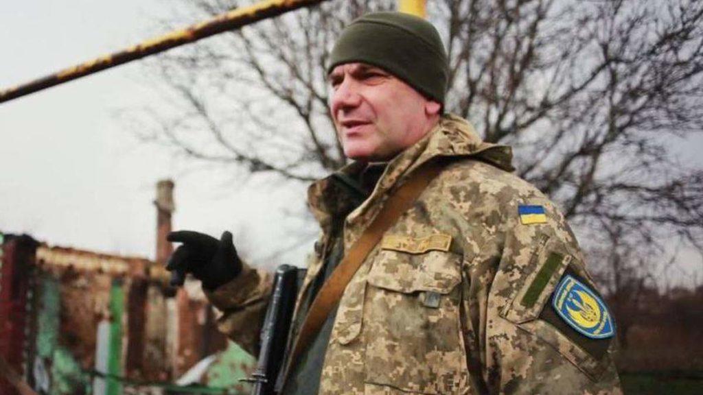 Украинский военный Дмитрий Годзенко, убитый боевиками под Зайцевым Донецкой области