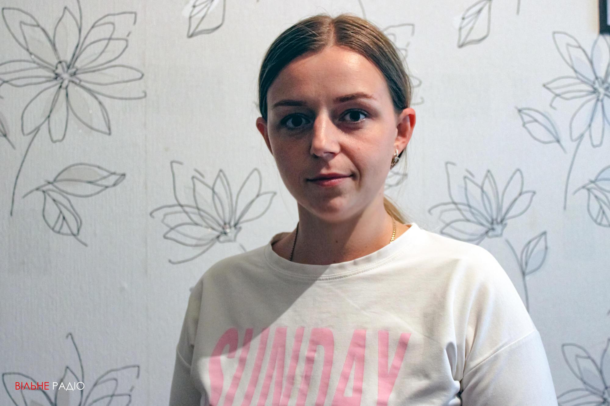 Ганна Романчук, яка переїхала до Опитного Бахмутського району
