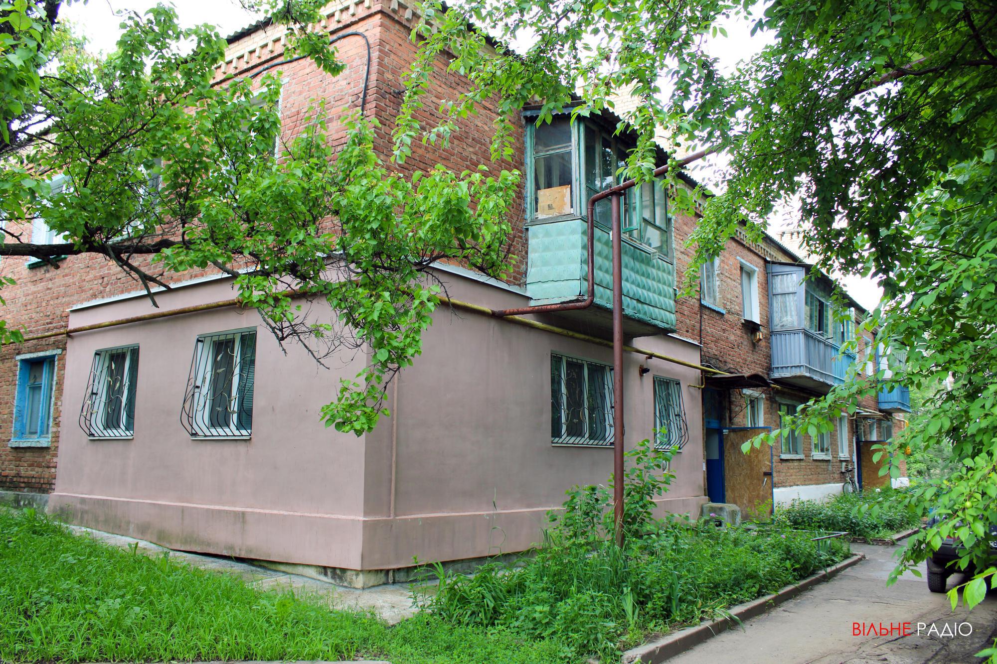 Дом в Бахмутском районе, куда перебралась семья Романчук