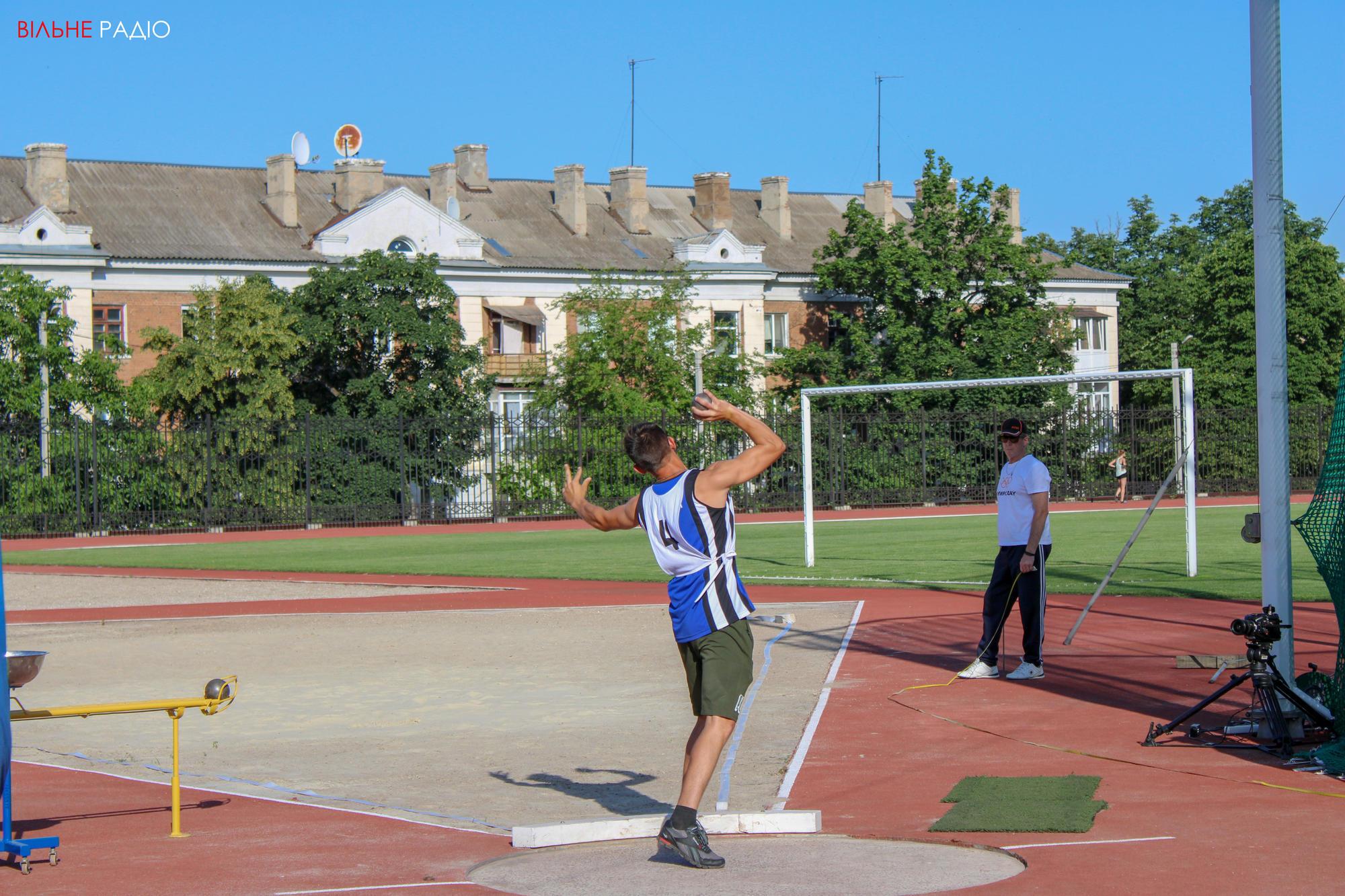 В Бахмуте начался летний чемпионат по легкой атлетике для людей с инвалидностью