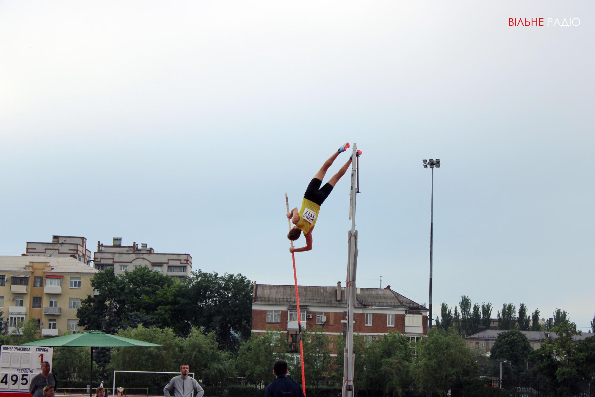 У Бахмуті стартував Чемпіонат України з легкої атлетики