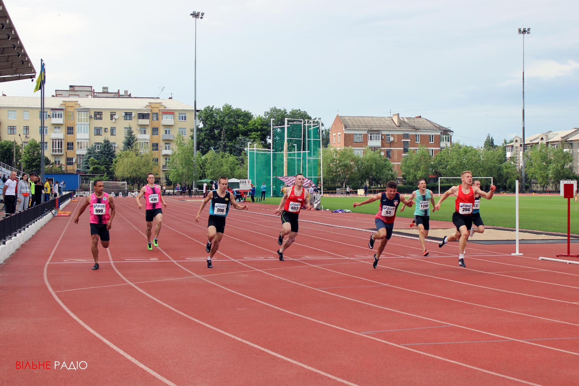 В Бахмуте стартовал чемпионат Украины по лёгкой атлетике