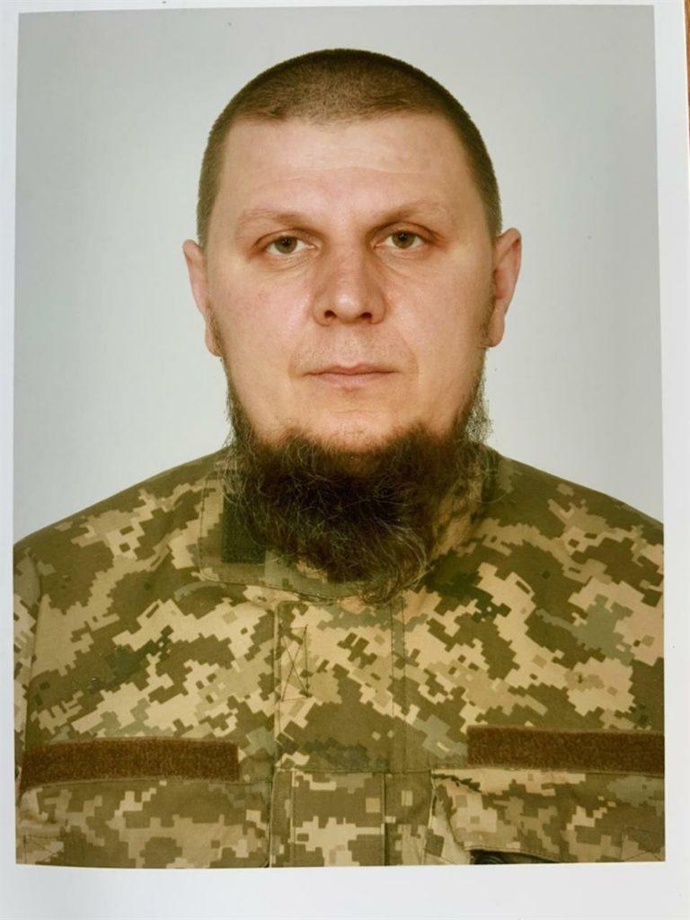 Український військовий Дмитро Красногрудь, який загинув під Зайцевим Донецької області