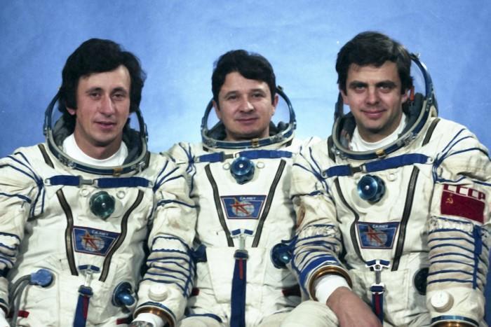 космонавт Леонид Кызым родом из Лимана
