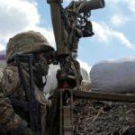 Російські гібридні сили обстріляли околиці Пісків із великокаліберних мінометів