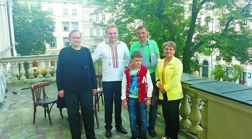 На реабілітації на Львівщині. Фото: Високий Замок