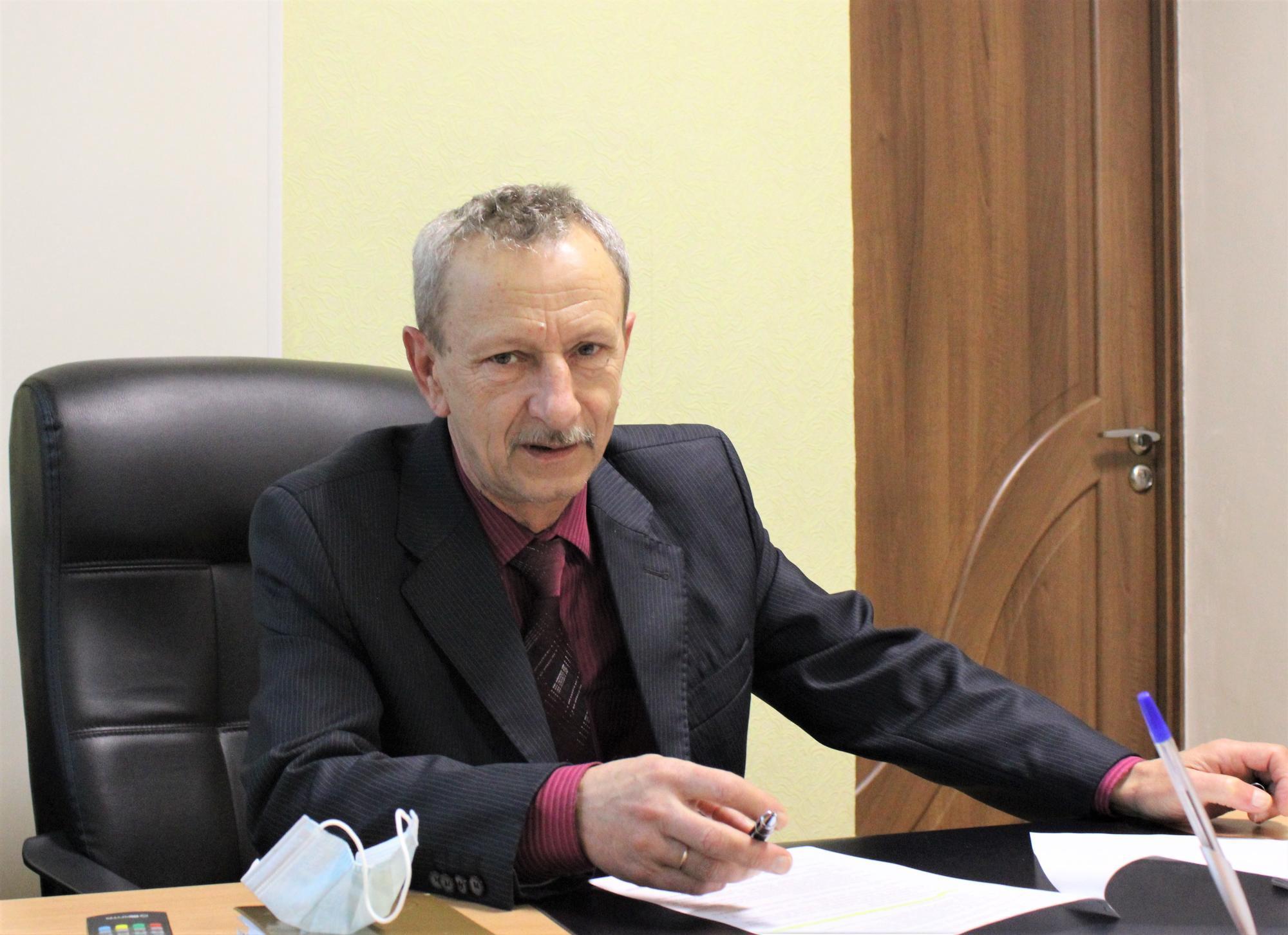 головний лікар Світлодарської лікарні Леонід Гуржий