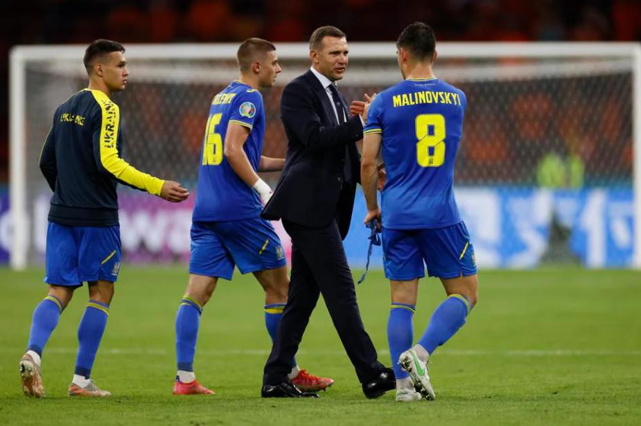 Результаты сборной Украины на Евро-2020