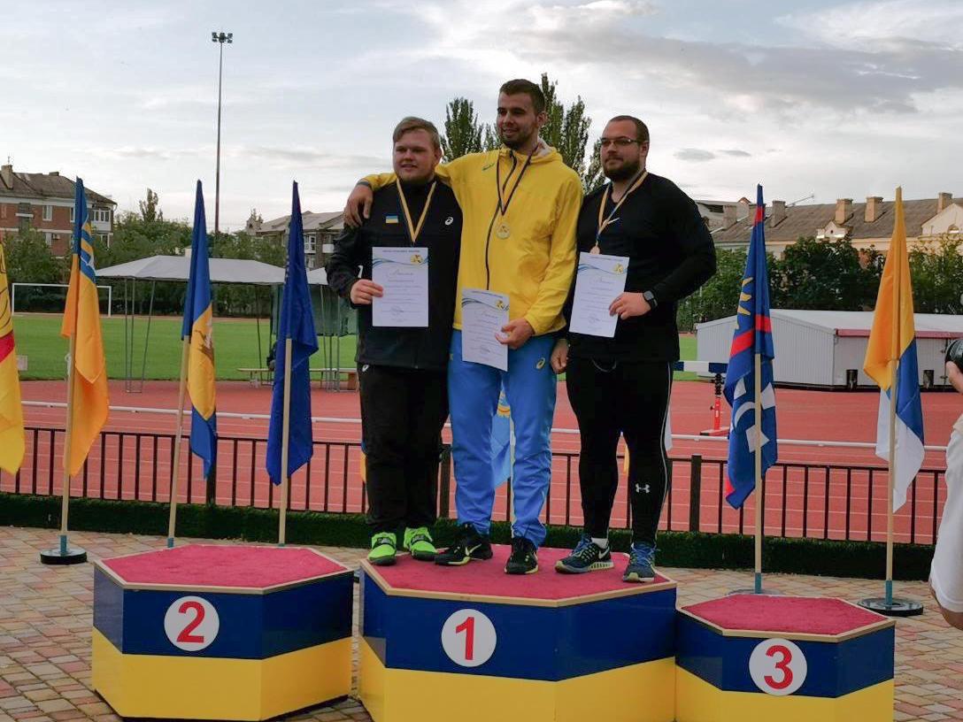 Спортсмены из Донецкой области победили на Чемпионате Украины по легкой атлетике