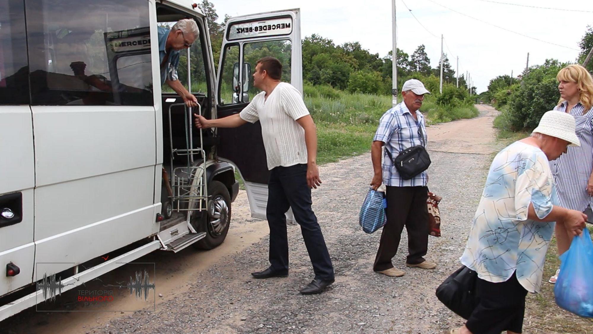 В прифронтовую зону Донбасса запустят бесплатные автобусы
