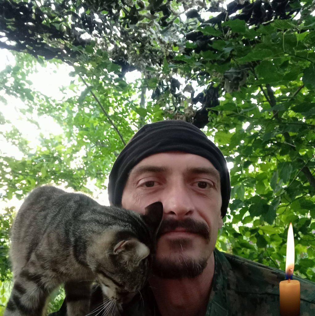 Владимир Яскив погиб в пятницу, 11 июля, от пули снайпера