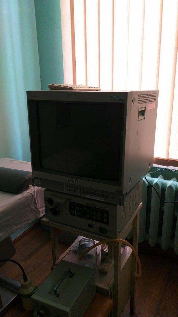 У військовому госпіталі в Часів Ярі з'явилося нове обладнання для дослідження шлунку (ФОТО)