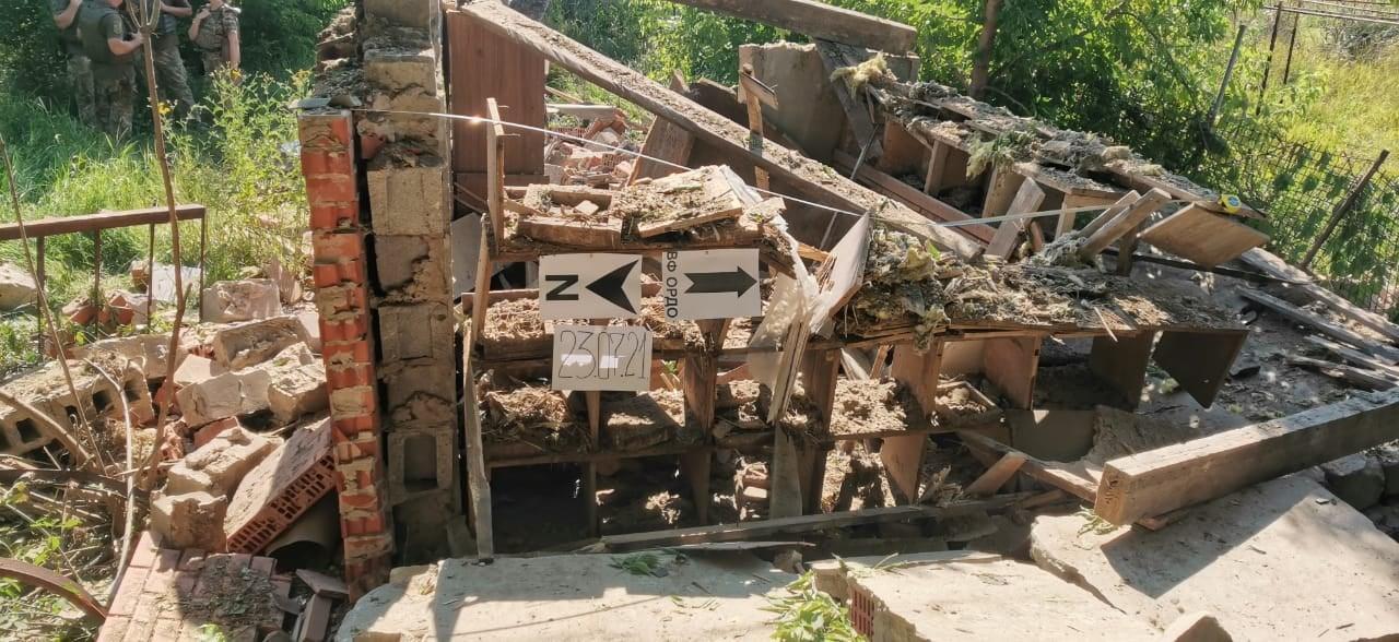 Боевики обстреляли окрестности Опытного под Ясиноватой из минометов