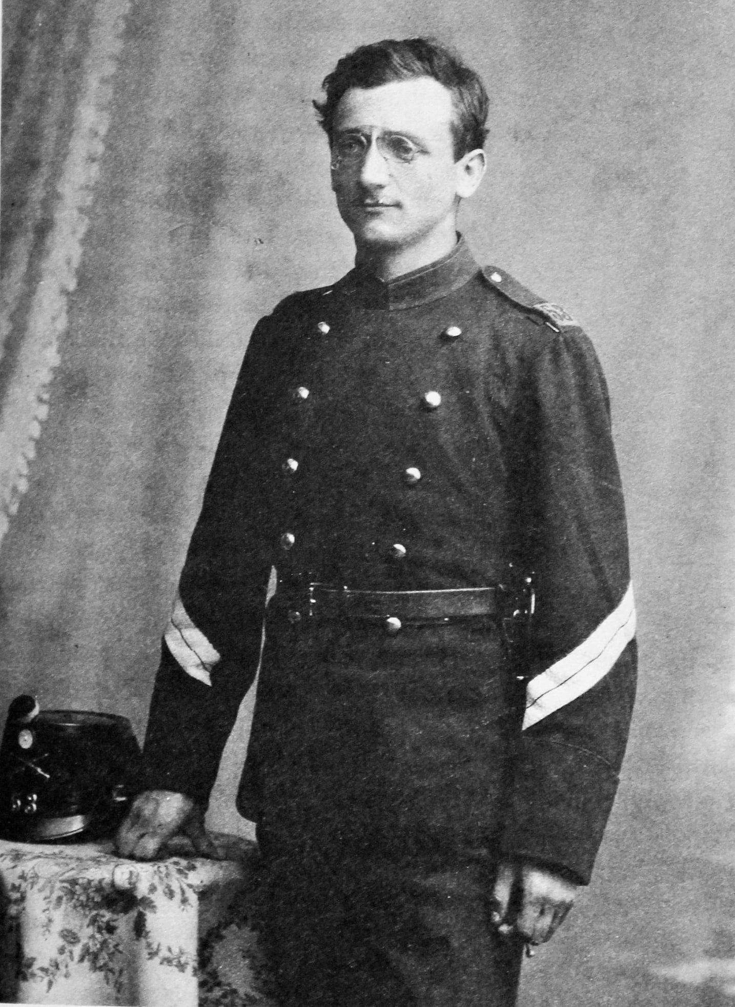 Альфред Гайсин в военной форме