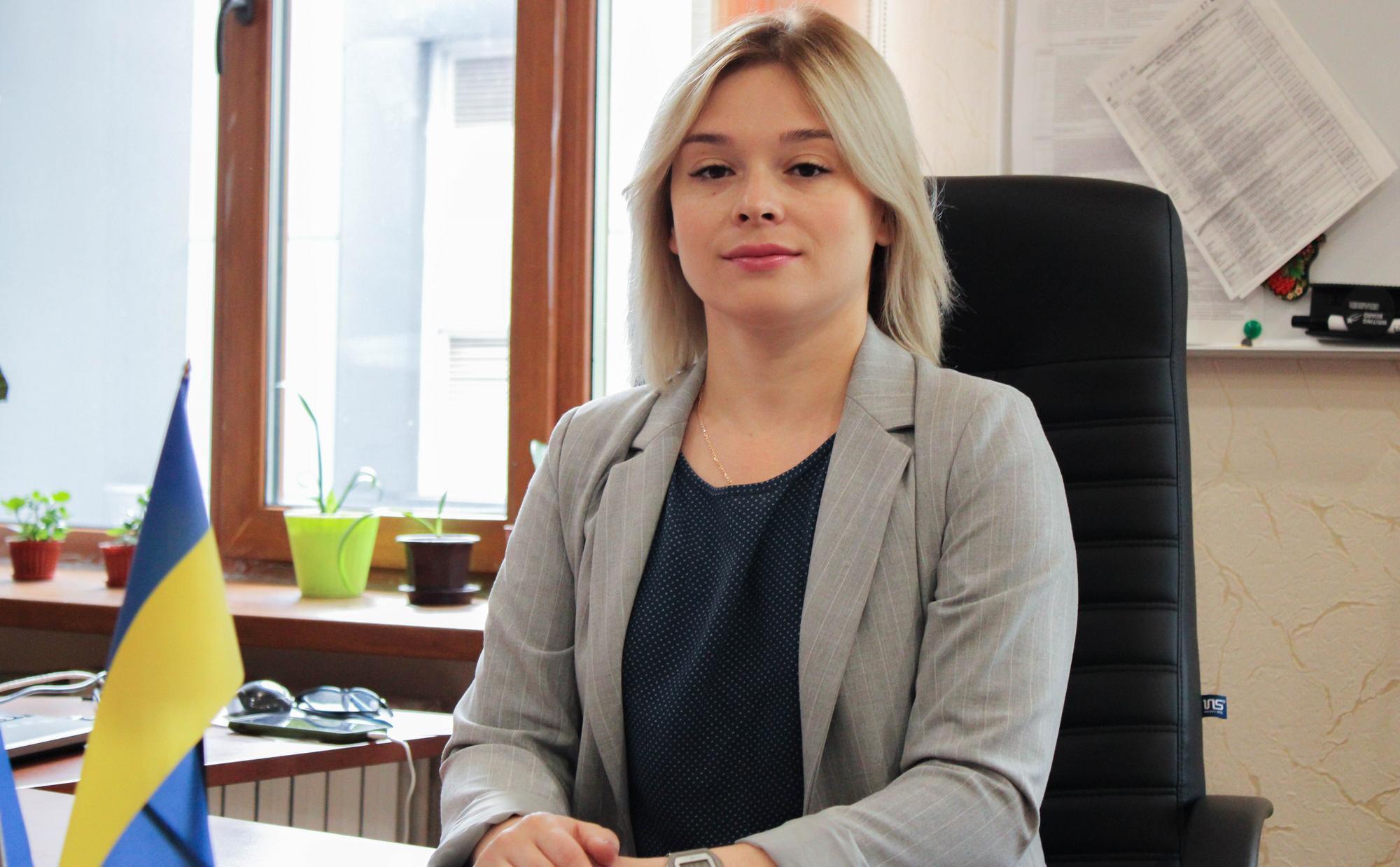 секретар Бахмутської міськради Анастасія Касперська