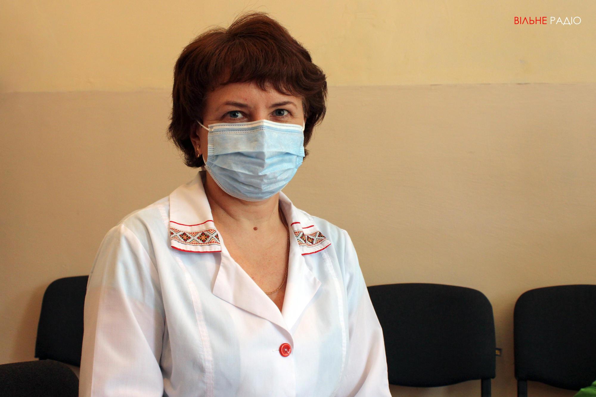 Завідувачка неврологічного відділення Бахмутської багатопрофільної лікарні інтенсивного лікування Ганна Шаповаленко