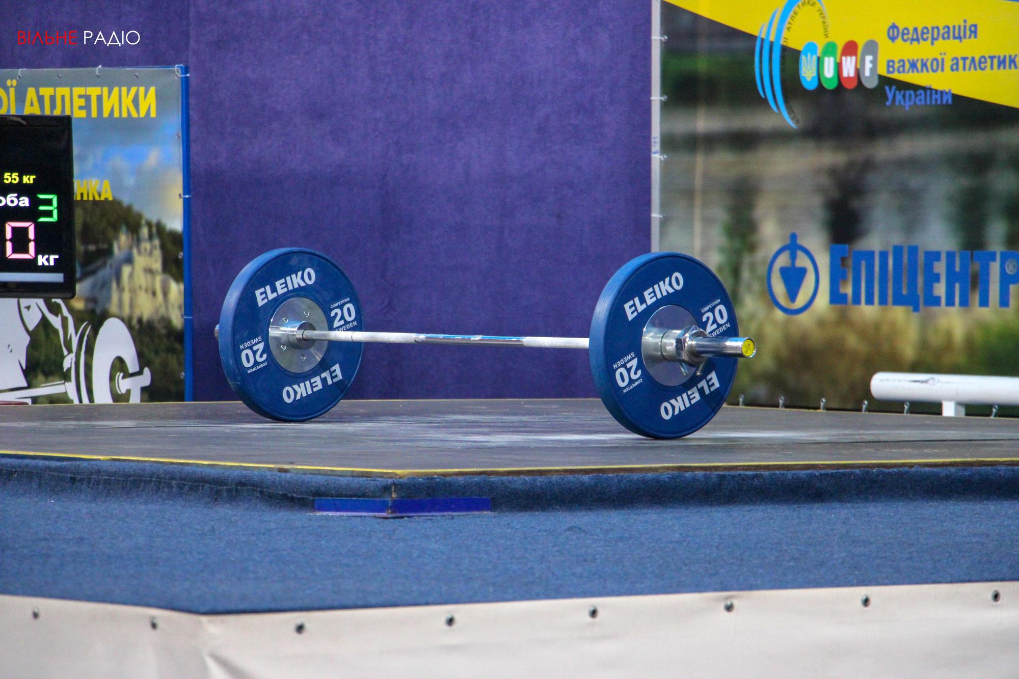 В Бахмуте впервые провели чемпионат Украины по тяжелой атлетике среди молодежи