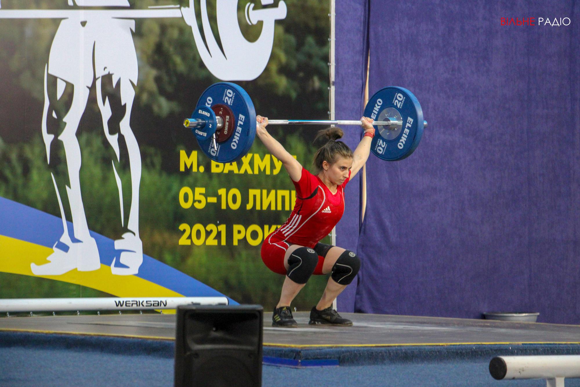 В Бахмуте впервые проводят чемпионат Украины по тяжелой атлетике среди молодежи