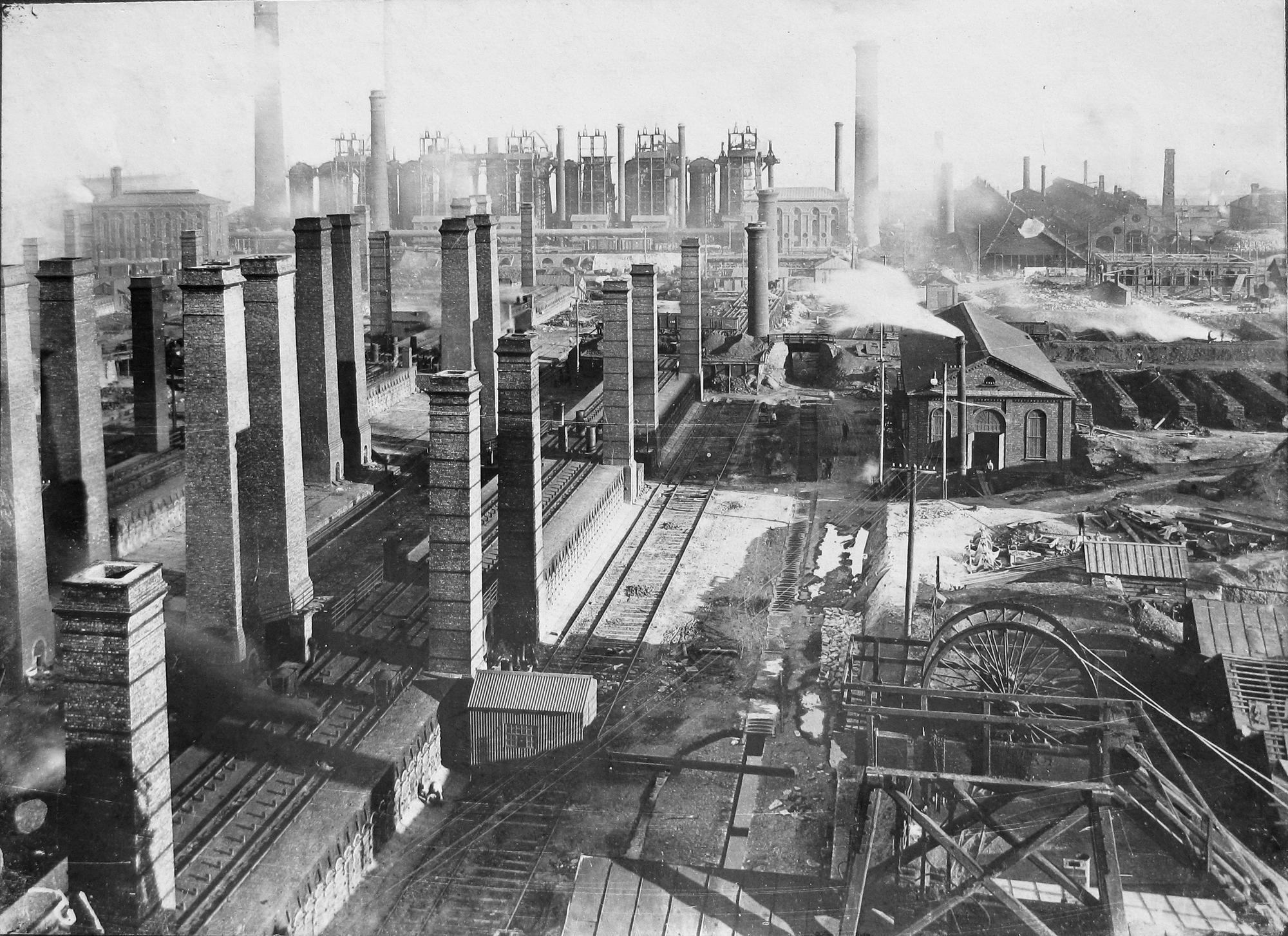 металургійний завод Юза на Донбасі