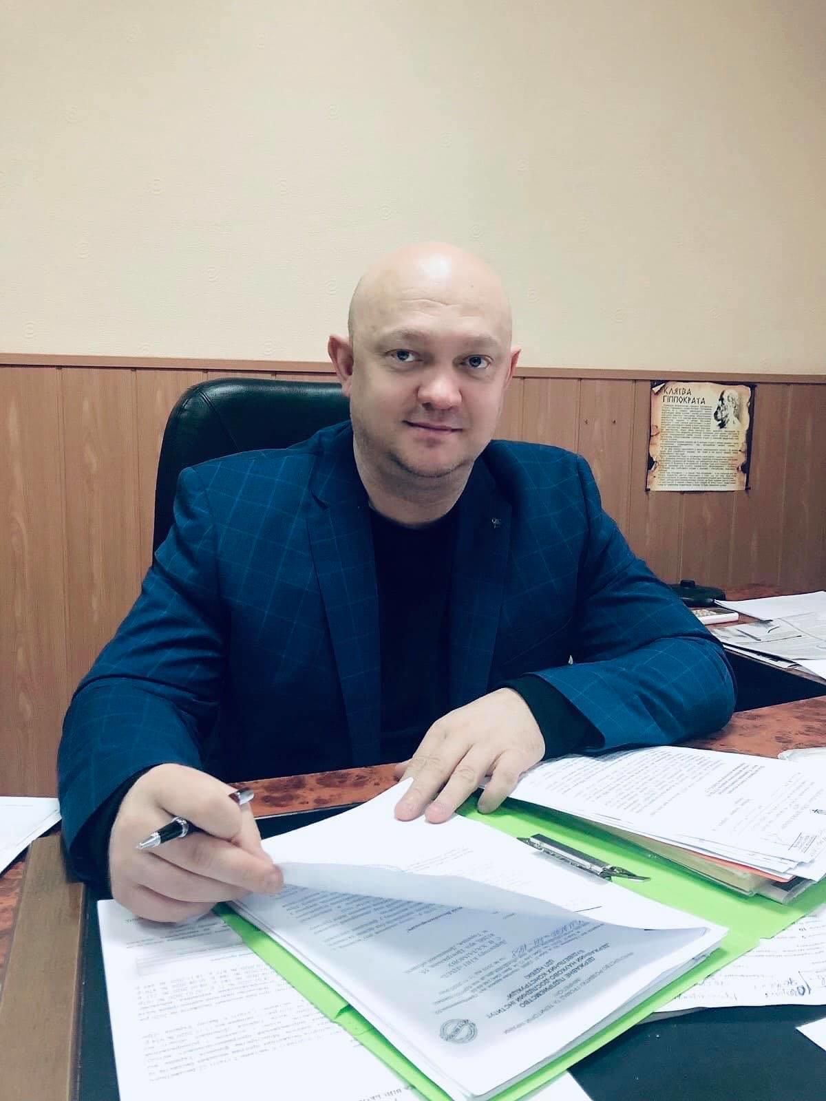 дирекор Торецької лікарні Сергій Халаімов