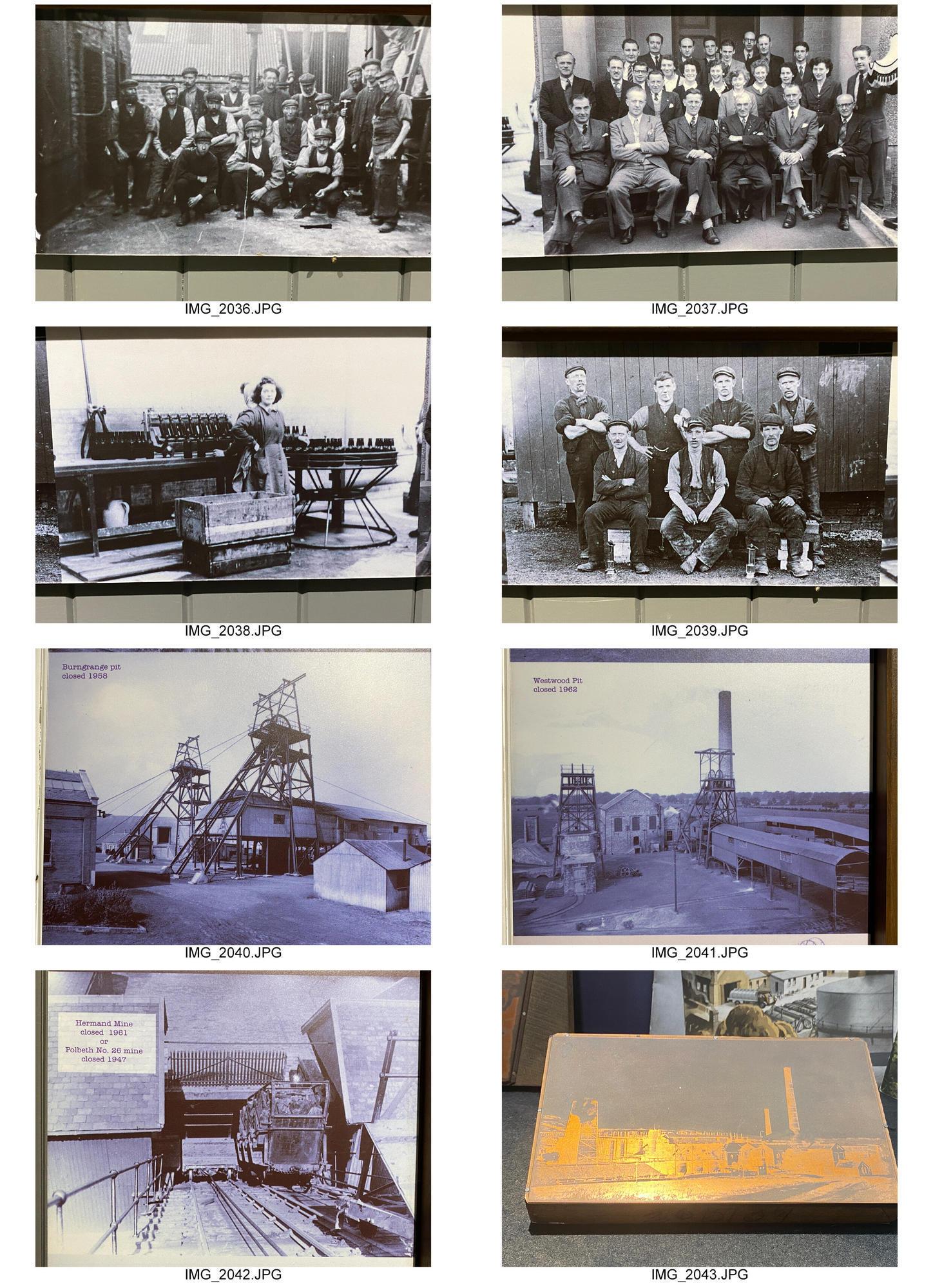 архівні матеріали про вугільні шахти у Великій Британії
