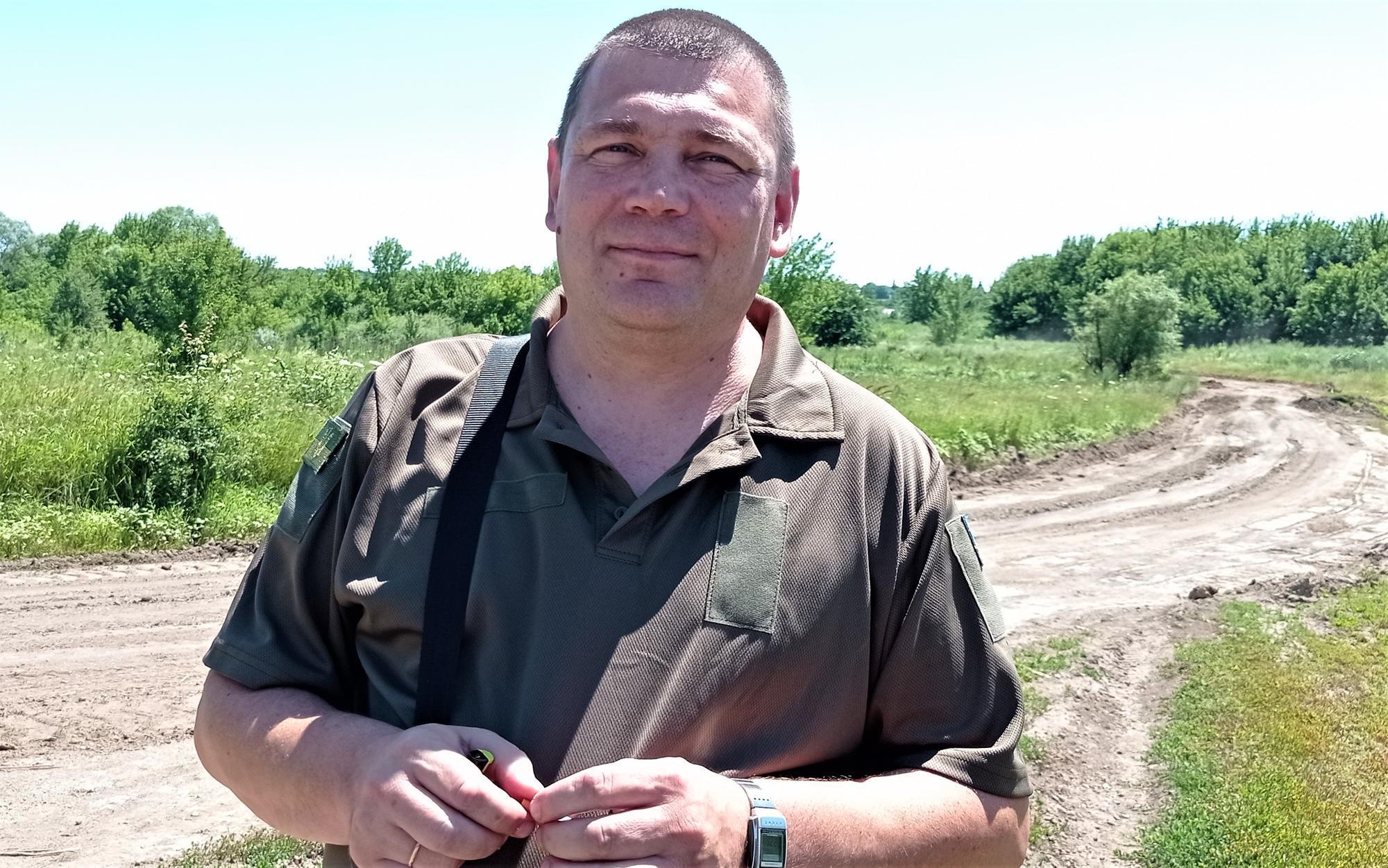 эко-инспектор Донетчины Евгений Артюхов