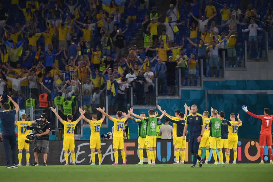 Збірна України програла збірній Англії в 1/4 Євро-2020