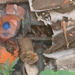 В селищі Зайцеве прикордонники знайшли схрон гранат, мін та набоїв (ФОТО)