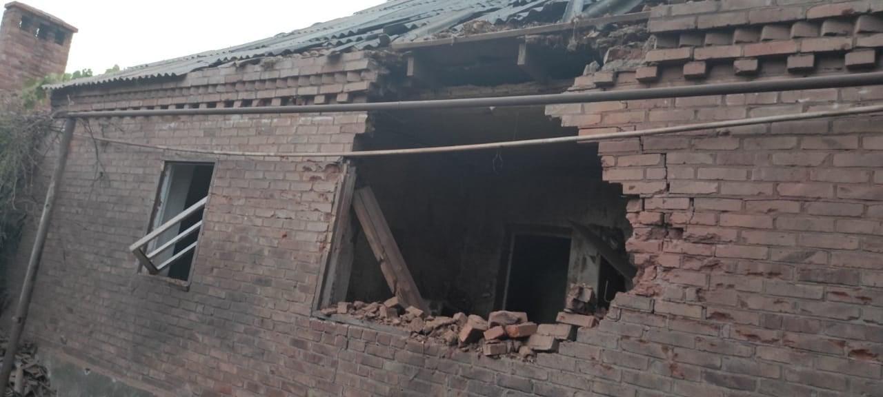 обстріл на Донбасі пошкоджений будинок у Нью-Йорку
