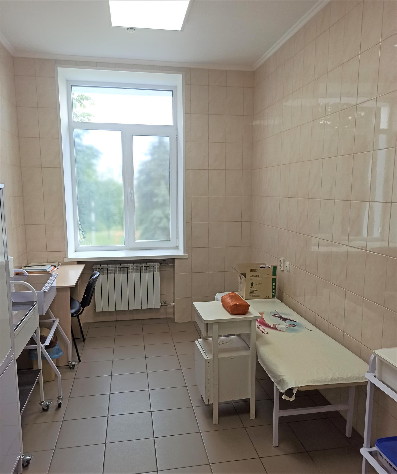 процедурний кабінет лікарні у Дружківці