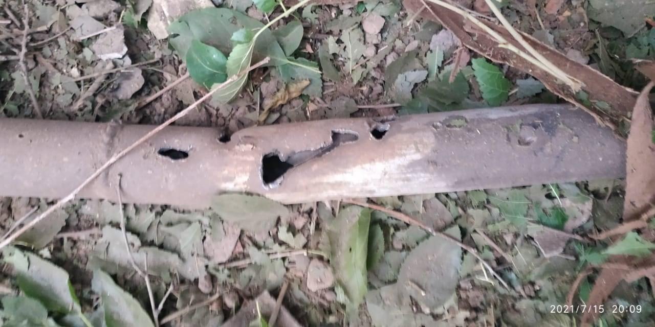 снаряд обстріл цивільних на Донбасі