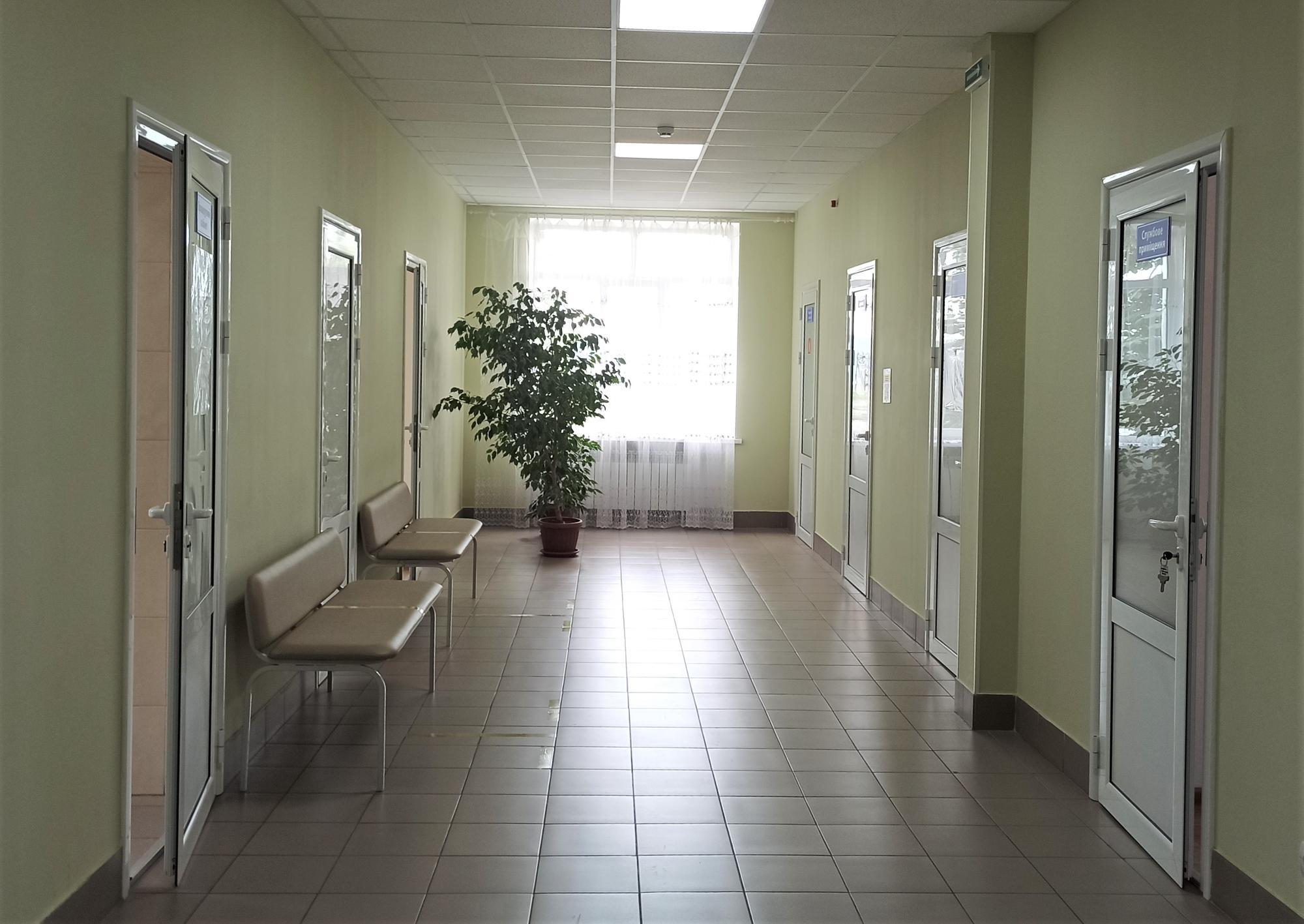 коридор лікарні у Дружківці