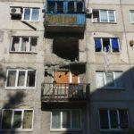 В Красногоровке снаряд прилетел в жилой дом, ранен местный (ФОТО ОБНОВЛЕНО)